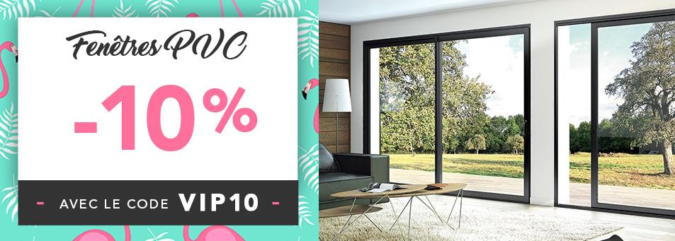 -10% sur les fenêtres PVC