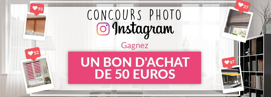 Jeu concours instagram